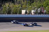 #4: Raphael Lessard, Kyle Busch Motorsports, Toyota Tundra SiriusXM, #38: Todd Gilliland, Front Row Motorsports, Ford F-150 Speedco, #75: Parker Kligerman