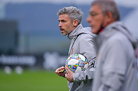 assistant coach Jerome Colinet of Belgium pictured during a soccer game between the national teams Under17 Youth teams of Belgium and Luxemburg in the Qualifying round in group 3 on wednesday 6 th of October 2020  in Tubize , Belgium . PHOTO SPORTPIX | STIJN AUDOOREN