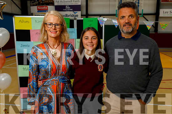 Saorise O'Connor McCarthy from The Kerries Tralee graduating from Moyderwell on Friday <br /> L to r: Patricia O'Connor and Colm McCarthy.