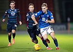 St Johnstone v Ross County…..29.12.19   McDiarmid Park   SPFL<br />Ali McCann and Joe Chalmers<br />Picture by Graeme Hart.<br />Copyright Perthshire Picture Agency<br />Tel: 01738 623350  Mobile: 07990 594431