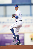 June 2, 2009: Luke Hochevar (36) of the Omaha Royals at Rosenblatt Stadium in Omaha, NE.  Photo by: Chris Proctor/Four Seam Images