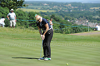 Jennifer Gibney during the Bulmers 2018 Celebrity Cup at the Celtic Manor Resort. Newport, Gwent,  Wales, on Saturday 30th June 2018<br /> <br /> <br /> Jeff Thomas Photography -  www.jaypics.photoshelter.com - <br /> e-mail swansea1001@hotmail.co.uk -<br /> Mob: 07837 386244 -