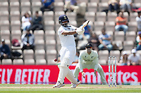 Ajinkya Rahane, India mis times an attempted pull shot during India vs New Zealand, ICC World Test Championship Final Cricket at The Hampshire Bowl on 23rd June 2021