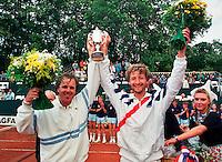 1990, Hilversum, Dutch Open, Melkhuisje, Fibak finalist en Mecier winnaar