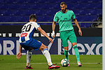 28th June 2020; RCDE Stadium, Barcelona, Catalonia, Spain; La Liga Football, Real Club Deportiu Espanyol de Barcelona versus Real Madrid; Picture show Benzema