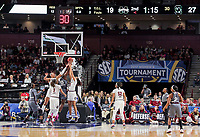Action during the SEC Women's Tournament in Greenville. (Travis Bell/SIDELINE CAROLINA)