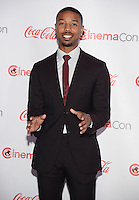 LAS VEGAS, NV - March 27: MIchael B. Jordan at the  CinemaCon Big Screen Achievement Awards on March 27, 2014 in Las Vegas, Nevada. © Kabik/ Starlitepics