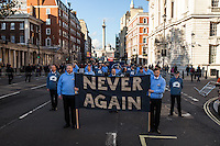 """09.11.2014 - Veterans For Peace UK: """"Never Again"""""""