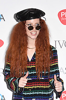 Jess Glynne<br /> arrives for the 2016 Ivor Novello Awards at the Grosvenor House Hotel, London.<br /> <br /> <br /> ©Ash Knotek  D3121  19/05/2016