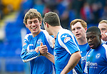 St Johnstone v Kilmarnock.....09.03.13      SPL.Murray Davidson celebrates his goal.Picture by Graeme Hart..Copyright Perthshire Picture Agency.Tel: 01738 623350  Mobile: 07990 594431
