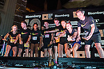 Awards ceremony at the Bloomberg Square Mile Relay in London, United Kingdom. Photo by Richard Langdon / Power Sport Images