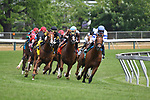 MAY 18, 2019 : Mitchell Road, ridden by Joel Rosario, wins the Gallorette Stakes at Pimlico Racecourse, on May 18, 2019 in Baltimore, MD.  Dan Heary_ESW_CSM
