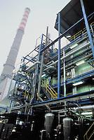 - electrothermal power station ASM (Municipial Services Company) with co-generation for district heating....- centrale elettrotermica ASM (Azienda Servizi Municipalizzati) con cogenerazione per il teleriscaldamento