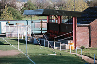 General view of Waltham Abbey FC Football Ground, Capershotts, Sewardstone Road, Waltham Abbey, Essex, pictured on 13th April 1997