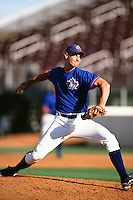 Bob File of the Toronto Blue Jays organization plays in a California Fall League game at The Epicenter circa October 1999 in Rancho Cucamonga, California. (Larry Goren/Four Seam Images)