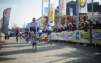 Zdenek Stybar (CZE/Etixx-QuickStep) rolling to the start<br /> <br /> 103rd Scheldeprijs 2015
