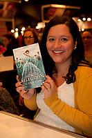 Kiera Cass at montreal book fair, November 2015,<br /> <br /> <br /> PHOTO : Michel Karpoff<br /> <br />  - Agence Quebec Presse