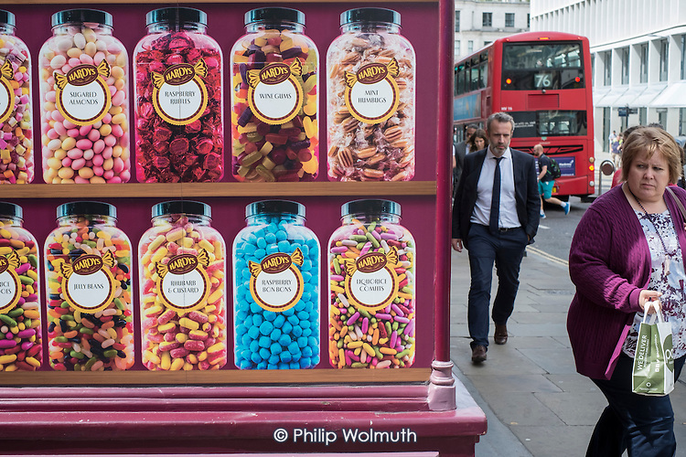 Sweetshop in the City of London.