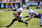 Oklahoma State Cowboys wide receiver Tyreek Hill (24) in action during the game between the OSU Cowboys and the TCU Horned Frogs at the Amon G. Carter Stadium in Fort Worth, Texas. TCU defeated OSU 42 to 9.