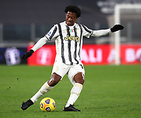 Calcio, Serie A: Juventus FC - S.S.Lazio, Turin, Allianz Stadium, March 6, 2021.<br /> Juventus' Juan Cuadrado in action during the Italian Serie A football match between Juventus and Lazio at the Allianz stadium in Turin, on March 6, 2021.<br /> UPDATE IMAGES PRESS/Isabella Bonotto
