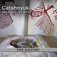 Pictures & Images of Catalhoyuk Neolithic Archaeology Site -