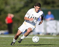 Chris Korb #16 of the University of Akron during the 2010 College Cup final against the University of Louisville at Harder Stadium, on December 12 2010, in Santa Barbara, California. Akron champions, 1-0.
