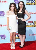 LOS ANGELES, CA, USA - APRIL 26: Laura Marano, Vanessa Marano at the 2014 Radio Disney Music Awards held at Nokia Theatre L.A. Live on April 26, 2014 in Los Angeles, California, United States. (Photo by Xavier Collin/Celebrity Monitor)