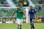 19.09.2020, wohninvest Weserstadion, Bremen, GER,  SV Werder Bremen vs Hertha BSC Berlin, <br /> <br /> <br />  im Bild<br /> <br /> enttäuscht / enttaeuscht / traurig / Niederlage / dissapointed<br /> Ludwig Augustinsson (Werder Bremen #05)<br /> Einzelaktion, Halbkörper / Halbkoerper,<br /> <br /> Foto © nordphoto / Kokenge<br /> <br /> DFL regulations prohibit any use of photographs as image sequences and/or quasi-video.