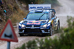 Sébastien Ogier/Julien Ingrassia (Volkswagen Polo R WRC) during the World Rally Car RACC Catalunya Costa Dourada 2016 / Rally Spain, in Catalunya, Spain. October 15, 2016. (ALTERPHOTOS/Rodrigo Jimenez)