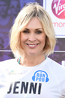 Jenni Falconer<br /> at the start of the London Marathon 2019, Greenwich, London<br /> <br /> ©Ash Knotek  D3496  28/04/2019