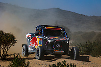 3rd January 2021, Jeddah, Saudi Arabia;  387 Gutierrez Cristina (esp), Cazalet François (fra), OT3, Red Bull Off-Road Team USA, Light Weight Vehicles Prototype - T3, action during the 1st stage of the Dakar 2021 between Jeddah and Bisha, in Saudi Arabia on January 3, 2021 -