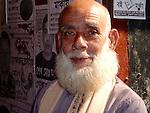 A gentleman at his stall, Sylhet market