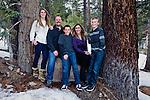 Sams family portrait, Mammoth Lakes, California