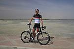 Radioshack-Nissan Trek rider Joost Posthuma (NED) before the start of Stage 4 of the 2012 Tour of Qatar from Al Thakhira to Madinat Al Shamal, Qatar. 8th February 2012.<br /> (Photo Eoin Clarke/Newsfile)