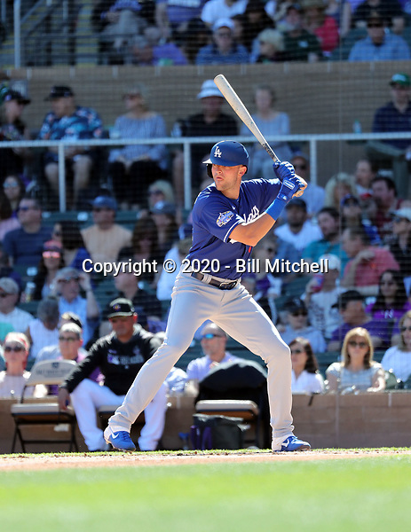 Cody Thomas - Los Angeles Dodgers 2020 spring training (Bill Mitchell)