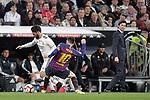 Real Madrid CF's Isco Alarcon, coach Santiago Solari and FC Barcelona's Leo Messi during La Liga match. March 02,2019. (ALTERPHOTOS/Alconada)