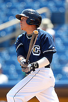 Lake County Captains Giovanny Urshela #32 during a game against the Quad Cities River Bandits at Classic Park on July 21, 2011 in Eastlake, Ohio.  Lake County defeated Quad Cities 16-15.  (Mike Janes/Four Seam Images)