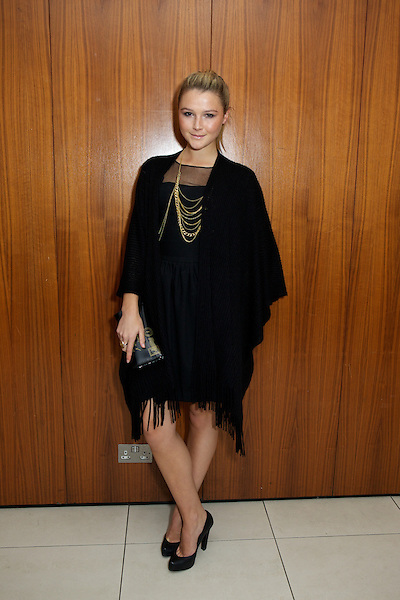 Amber Atherton from Made in Chelsea at The Take Heart Ball, Kensington Roof Gardens, London