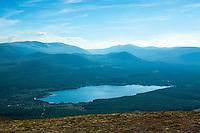 Loch Morlich from Creagan Gorm, Aviemore, Cairngorm National Park, Highland