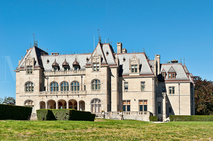 Ochre Court on the grounds of Salve Regina University, Cliff Walk, Newport, Rhode Island, RI