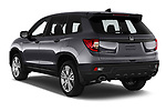 Car pictures of rear three quarter view of 2019 Honda Passport EX-L 5 Door SUV Angular Rear