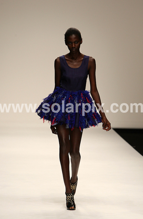 **ALL ROUND PICTURES FROM SOLARPIX.COM**.**WORLDWIDE SYNDICATION RIGHTS**.The Felder Felder catwalk show, part of London Fashion Week September 2010. 17 September 2010..This pic: Felder Felder catwalk show..JOB REF: 12117 MLW     DATE: 17_09_2010.**MUST CREDIT SOLARPIX.COM OR DOUBLE FEE WILL BE CHARGED**.**MUST NOTIFY SOLARPIX OF ONLINE USAGE**.**CALL US ON: +34 952 811 768 or LOW RATE FROM UK 0844 617 7637**