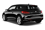 Car pictures of rear three quarter view of a 2017 Volkswagen Scirocco R Line 5 Door Hatchback angular rear