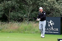 7th July 2021; North Berwick, East Lothian, Scotland;  Graeme McDowell Northern Ireland on the 5th tee during the Celebrity Pro-Am at the abrdn Scottish Open at The Renaissance Club, North Berwick, Scotland.