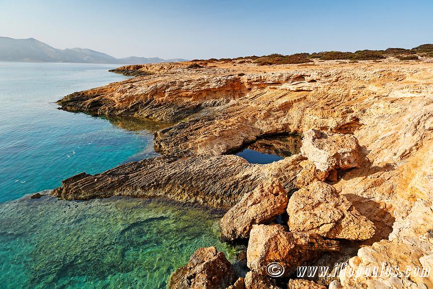 Pissina of Koufonissi island in Cyclades, Greece