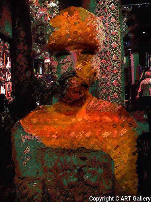 Twisted 13, Bearded Figure
