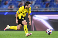 Raphael Guerreiro of Borussia Dortmund in action during the Champions League Group Stage F day 1 football match between SS Lazio and Borussia Dortmund at Olimpic stadium in Rome (Italy), October, 200 Italy, 2020. Photo Andrea Staccioli / Insidefoto