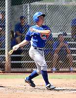 Matt Cerda / Chicago Cubs 2008 Instructional League ..Photo by:  Bill Mitchell/Four Seam Images