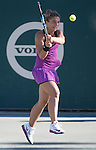 April  7, 2016:  Sara Errani (ITA) defeated Samantha Stosur (AUS) 6-4, 7-6, at the Volvo Car Open being played at Family Circle Tennis Center in Charleston, South Carolina.  ©Leslie Billman/Tennisclix/Cal Sport Media