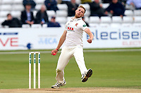 Jamie Porter in bowling action for Essex during Essex CCC vs Middlesex CCC, Specsavers County Championship Division 1 Cricket at The Cloudfm County Ground on 29th June 2017